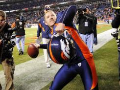 Matt Prater of Denver Broncos had only 32% of his kickoffs returned this season, the lowest percentage in the NFL.
