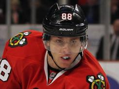Chicago's Patrick Kane says every game seems like a four-point game in the tight Central Division race.