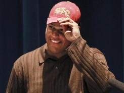 Offensive lineman Zach Banner chose Southern California over finalists Oklahoma and Washington.
