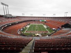 Candlestick Park has been home to the 49ers since 1971, but the team has a plan in place to build a new stadium near Santa Clara, Calif.