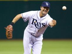 First baseman Casey Kotchman, show here with the Tampa Bay Rays during an April 20 game, will be taking his talents to Cleveland.