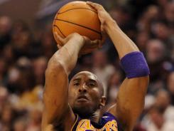 Kobe Bryant now trails just Kareem Abdul-Jabbar, Karl Malone, Michael Jordan and Wilt Chamberlain in career scoring.