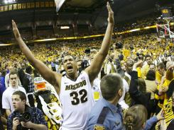 Steve Moore and the Missouri Tigers might not have many more chances to celebrate basketball wins against Kansas.