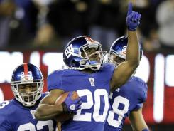 Rookie cornerback Prince Amukamara plans to return from a broken foot in 2012.