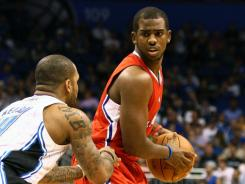 Chris Paul scored 11 points in the fourth quarter and overtime to lead the Clippers to their sixth win in seven games.