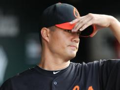 Jeremy Guthrie, the Orioles' opening day starter three of the last four seasons, was traded to the Rockies for reliever Matt Lindstrom and right-hander Jason Hammel.