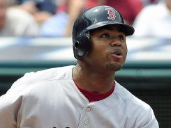 Outfielder Carl Crawford struggled during his first season in Boston, batting .255 with 11 home runs, 56 RBI and 18 stolen bases.