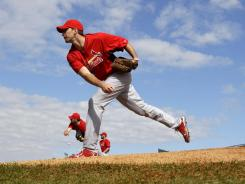 Adam Wainwright returns to the Cardinals after missing the entire 2011 season.