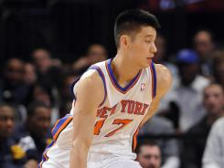 Jeremy Lin scored a career-high 28 points in helping the Knicks beat the Jazz on Monday night.