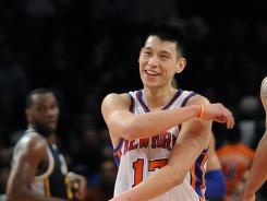 The Knicks' Jeremy Lin had 25 points off the bench in a win over the Nets, then came back with a career-high 28 against the Jazz in his first NBA start.
