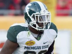 Michigan State safety Trenton Robinson has filed a complaint with Michigan police, claiming a police officer used racial slurs during a traffic stop.