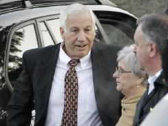 Former Penn State assistant football coach Jerry Sandusky is preparing for trial on charges he sexually abused 10 boys.