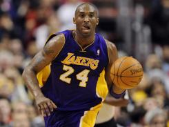 Lakers guard Kobe Bryant is now the NBA's fifth-leading scorer of all time.