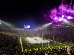The December 2010 Big Chill at the Big House was a huge hit. An NHL game at Michigan Stadium could top 110,000 in attendance.