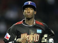 At the tender age of 19, Rangers shortstop prospect Jurickson Profar was a member of the World team at the 2011 All-Star Futures Game.