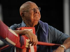 Angelo Dundee in a 2009 photo. the legendary trainer died last week at 90.