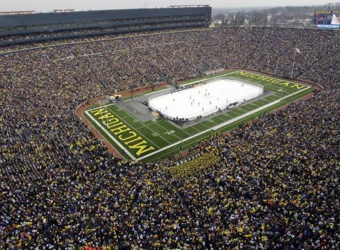 Toronto, Detroit To Play 2013 Winter Classic At Michigan Stadium