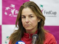 Arantxa Sanchez Vicario, the captain of Spain's Fed Cup team, blames her parents for losing $60 million in her career earnings.