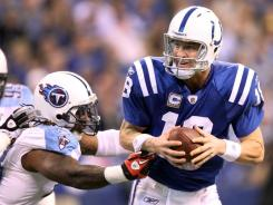 Colts QB Peyton Manning has faced the Titans twice a year since the AFC South was created in 2002.