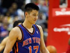 New York Knicks guard Jeremy Lin, the NBA's first American-born Chinese or Taiwanese player, has become so popular that Asian TV systems are picking up some of his team's games.