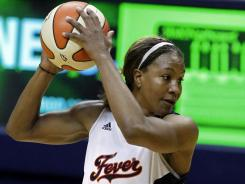 Fever forward Tamika Catchings, the 2011 WNBA MVP, is also a four-time Defensive Player of the Year and a seven-time All-Star.