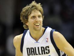 Dirk Nowitzki scored 25 points Wednesday night, passing Adrian Dantley for 16th place on the all time scoring list.