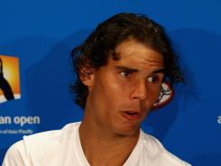 Rafael Nadal of Spain was the target of a spoof by a French TV station.