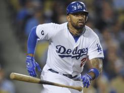 Los Angeles Dodger outfielder Matt Kemp is coming off the board first in many fantasy drafts.