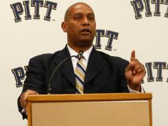 Mike Haywood was fired two weeks after being hired as Pittsburgh's football coach.