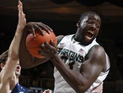 Draymond Green's versatility at both ends of the floor will be a key for Michigan State on Saturday in Columbus.