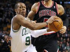 Rajon Rondo (9) had season highs in points and assists to help the Celtics snap a two-game slide.