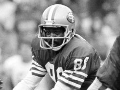 In 11 NFL seasons, Freddie Solomon had 371 receptions for 5,846 yards and 48 touchdowns.