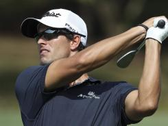 Adam Scott of Australia makes his season PGA Tour debut this week at the Northern Trust Open.