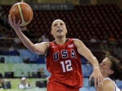 Diana Taurasi helped the USA win Olympic gold medals in the 2004 Athens Games and the 2008 Beijing Games.