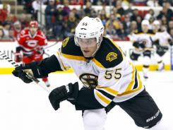 Defensement Johnny Boychuk has had his contract extended for three more seasons. The Bruin had nine points during his team's Stanley Cup championship run last June.