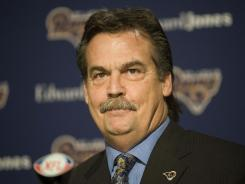Jeff Fisher became the Rams' coach in January.