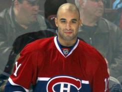 Montreal's Scott Gomez has been limited to one goal this season.