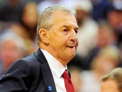 Connecticut Huskies head coach Jim Calhoun may be at the end of the line after a persistent back injury has kept him off the sidelines in recent weeks.