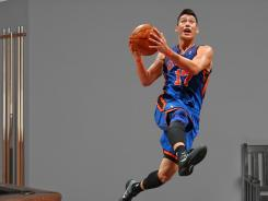 The Fathead poster of Jeremy Lin, for $99.99, has overtaken that of New England Patriots quarterback Tom Brady as the top seller, the fastest turnaround in company history.
