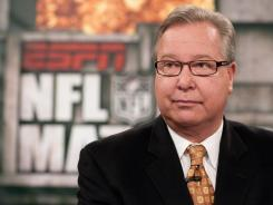 Ron Jaworski will continue to provide NFL analysis for ESPN, just not from the booth on Monday nights.