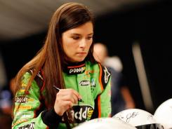 "Danica Patrick on Thursday said using ""sexy"" has a negative connotation to women ""You don't say those kinds of things to frame it like that for a guy,"" she said."