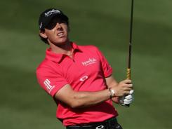 Rory McIlroy of Northern Ireland believes his new and improved swing will click by the time he gets to the Masters.
