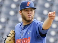Florida pitcher Steven Rodriguez again will be the closer as the Gators take aim at a national title.