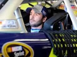Jimmie Johnson's car failed inspection at the Daytona 500, but NASCAR allowed the five-time champion's team to fix the flaw.