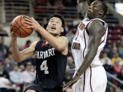 After not getting a scholarship with Stanford, Jeremy Lin eventually played his college career at Harvard.