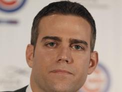 Cubs President of Baseball Operations Theo Epstein says he will have high expectations for Chicago this season. It has been 104 years since the club last won a World Series.