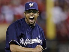 Milwaukee Brewers relief pitcher Francisco Rodriguez could file a lawsuit this week against his former agents.