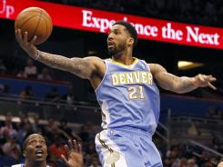 Wilson Chandler and the Nuggets hope to work out a free agent contract soon.