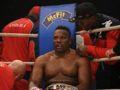 British boxer Dereck Chisora was detained on Sunday by Munich police in the wake of a brawl with ex-champion David Haye at a post-fight press conference after Chisora lost the title fight to Vitali Klitschko.
