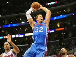 Los Angeles Clippers power forward Blake Griffin has no desire to imitate Carl Edwards' backflip.